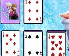 Игра Холодное сердце: косынка онлайн