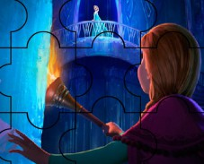 Игра Холодное cердце: Анна в Замке пазл онлайн