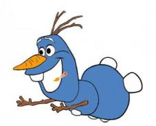 Игра Холодное cердце: Олаф летит раскраска онлайн