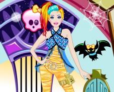 Игра Барби: Стиль Монстр Хай онлайн