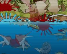 Игра Доисторическая акула веселая онлайн