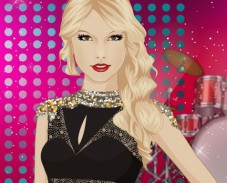 Игра Звездный макияж для Тэйлор Свифт онлайн