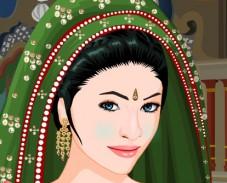 Игра Макияж для индианки онлайн