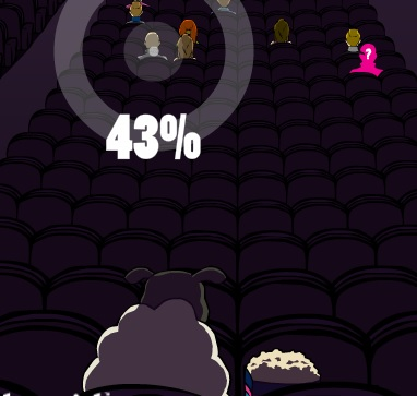 Игра Попкорн в кино - играй онлайн