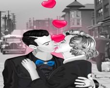 Игра Поцелуй Мерлин Moнро онлайн