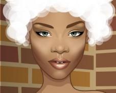 Игра Причёски для Рианны онлайн