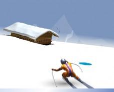 Игра Скоростной спуск онлайн