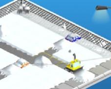 Игра Снегоочиститель онлайн