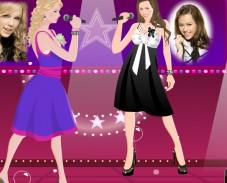 Игра Ханна Монтана и Тейлор Свифт онлайн