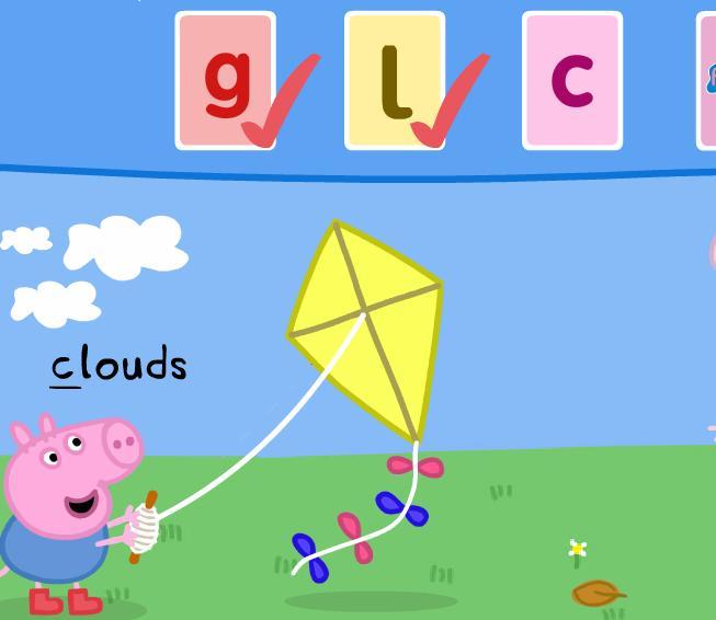 Игра Алфавит со свинкой Пеппой онлайн