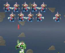 Игра История игрушек: стреляй с Баззом онлайн