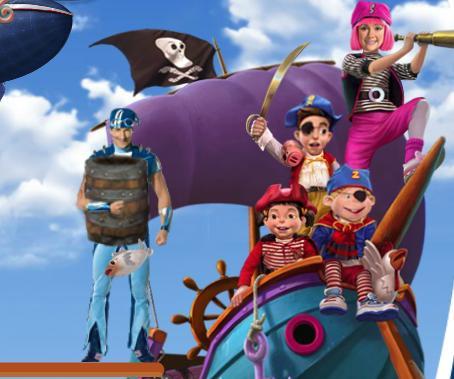 Игра Лентяево: пиратские приключения онлайн