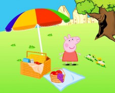 Игра Свинка Пеппа декор сада онлайн