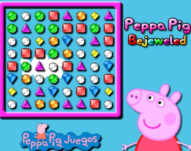 Игра Свинка Пеппа драгоценности онлайн