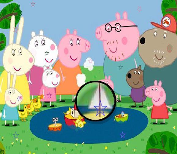 Игра Свинка Пеппа и потерянные звезды онлайн