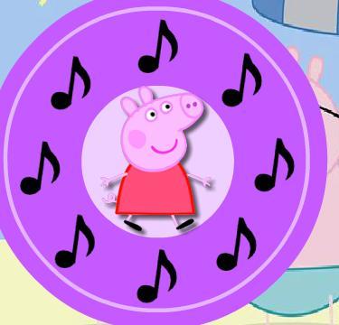 Игра Свинка Пеппа повтори мелодию онлайн