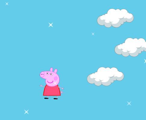 Игра Свинка Пеппа прыгает онлайн