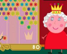 Игра Свинка Пеппа разбей короны онлайн