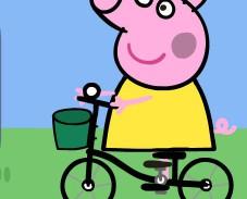 Игра Свинка Пеппа раскраска онлайн