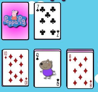 Игра Свинка Пеппа солитер онлайн