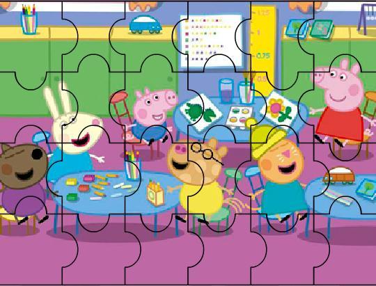 Игра Свинка Пеппа школьное время онлайн