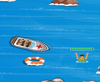 Игра Спасатель на воде онлайн
