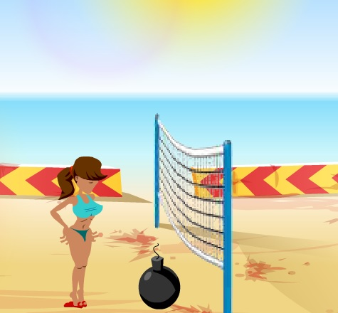 Игра Boom Boom Volleyball онлайн