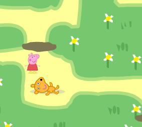 Игра Cвинка Пеппа лабиринт онлайн