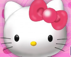 Игра Cute Hello Kitty Makeover онлайн