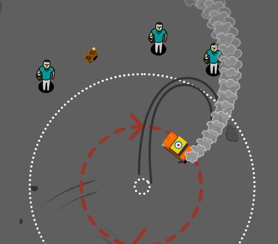 Игра Donut Drift онлайн