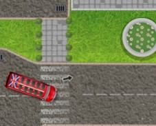 Игра Double Decker London Parking онлайн