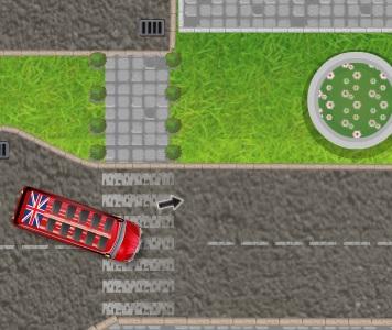 Игра Double Decker London Parking онлайн