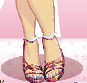 Игра Dream Diva Legs онлайн