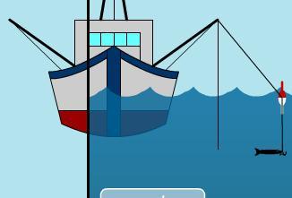 Игра Fishing the Sea онлайн
