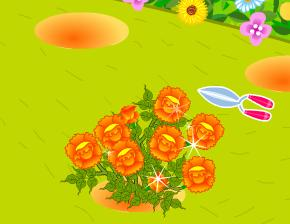 Игра Flower Gardening онлайн