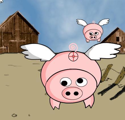 Игра Fly Pig онлайн