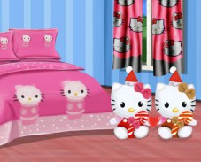 Игра Hello Kitty Bedroom онлайн