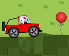 Игра Hello Kitty Car Driving онлайн