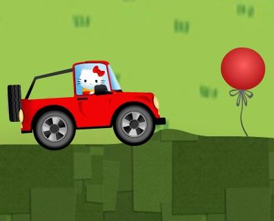 Игра Hello Kitty Car Driving онлайн