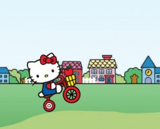 Игра Hello Kitty City Ride онлайн