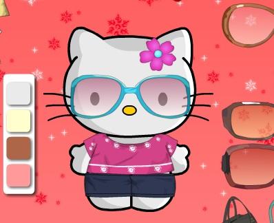 Игра Hello Kitty Dress-Up 2 онлайн