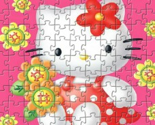 Игра Hello Kitty Flowers онлайн