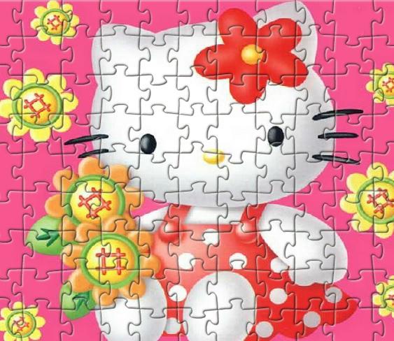 Игра Hello Kitty Flowers онлайн