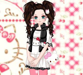 Игра Hello Kitty Gear онлайн