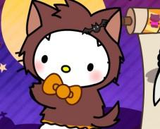 Игра Hello Kitty Halloween Costume онлайн