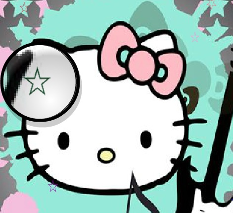 Игра Hello Kitty Hidden Stars онлайн