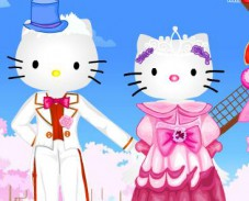 Игра Hello Kitty Marriage онлайн