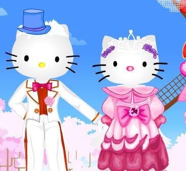 Игра Hello Kitty Marriage онлайн