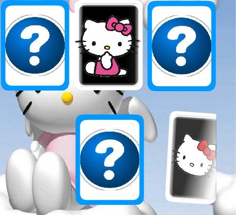 Игра Hello Kitty Memory Challenge онлайн