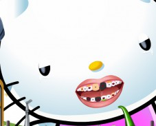 Игра  Hello Kitty Perfect Teeth онлайн